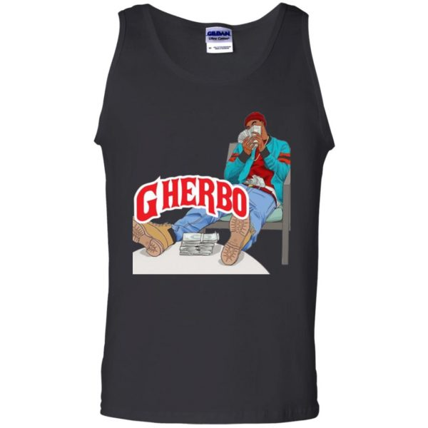 g herbo tank top - black