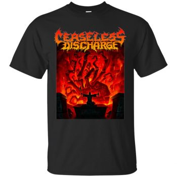 ceaseless discharge shirt - black