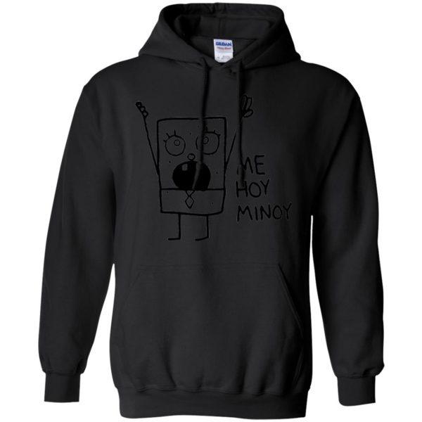 doodlebob hoodie - black