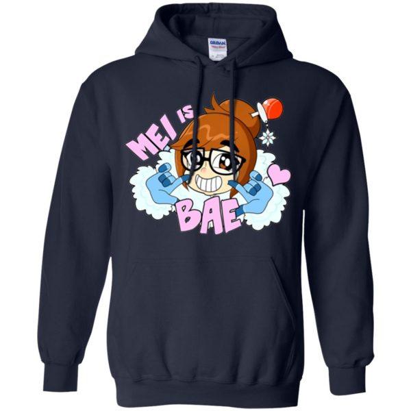 mei is bae hoodie - navy blue