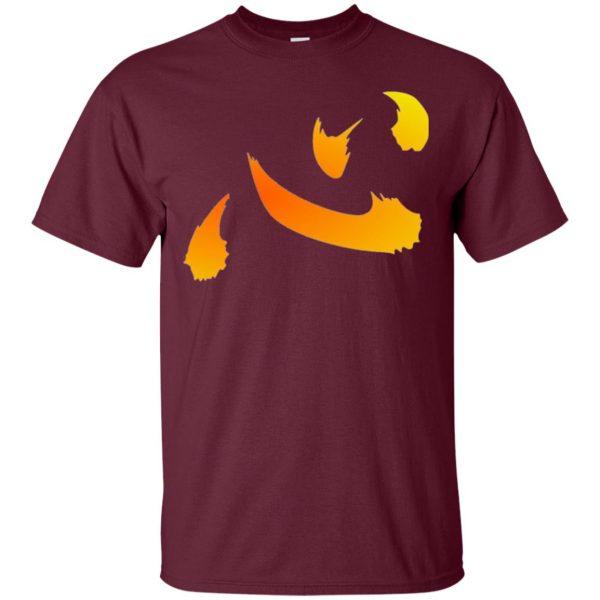 netero heart t shirt - maroon