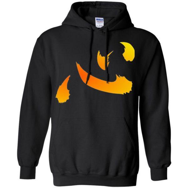 netero heart hoodie - black