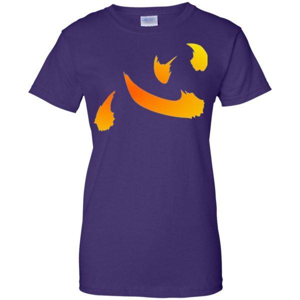 netero heart womens t shirt - lady t shirt - purple