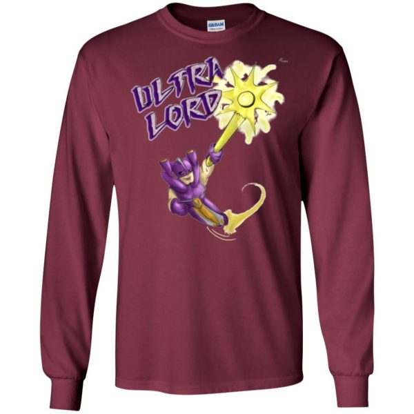 ultralord long sleeve - maroon
