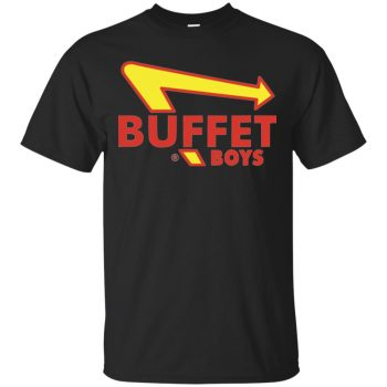 buffet boys sweatshirt - black