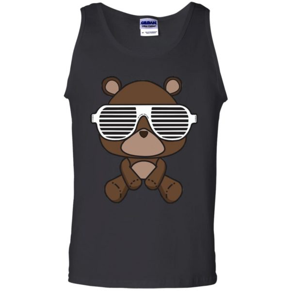 kanye west graduation tank top - black