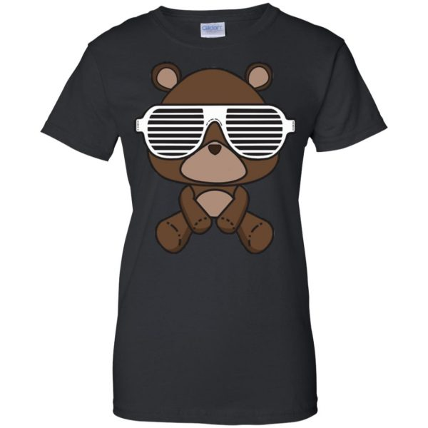 kanye west graduation womens t shirt - lady t shirt - black