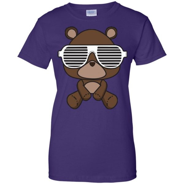 kanye west graduation womens t shirt - lady t shirt - purple