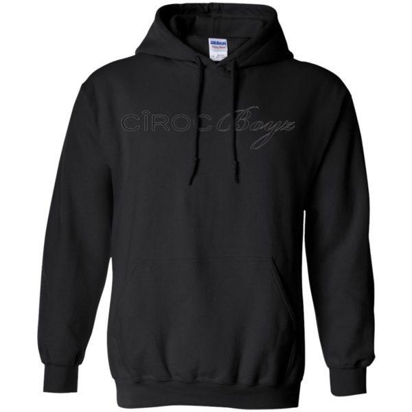 ciroc boyz ts hoodie - black
