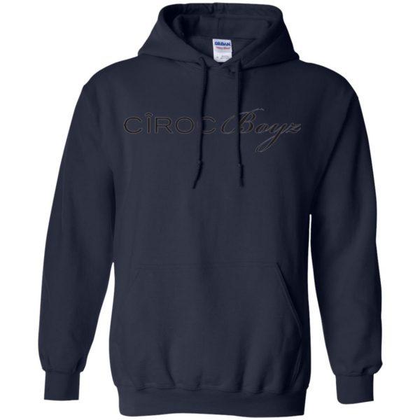 ciroc boyz ts hoodie - navy blue