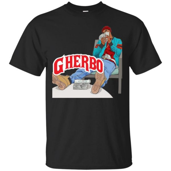 g herbo shirt - black