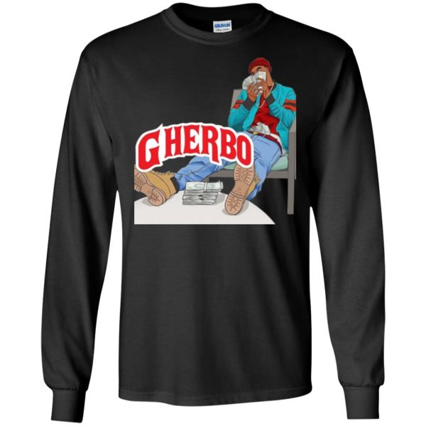 g herbo long sleeve - black