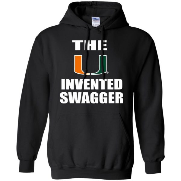 the u invented swagger hoodie - black