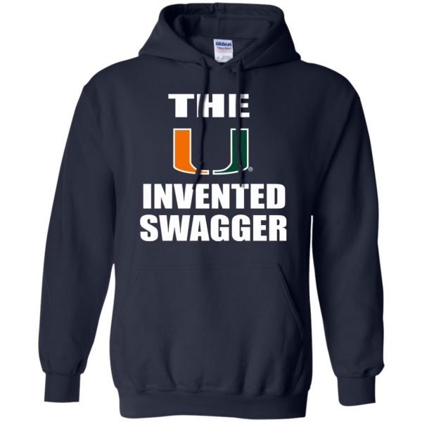 the u invented swagger hoodie - navy blue
