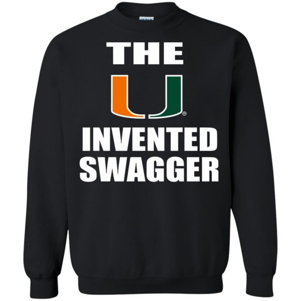 the u invented swagger sweatshirt - black