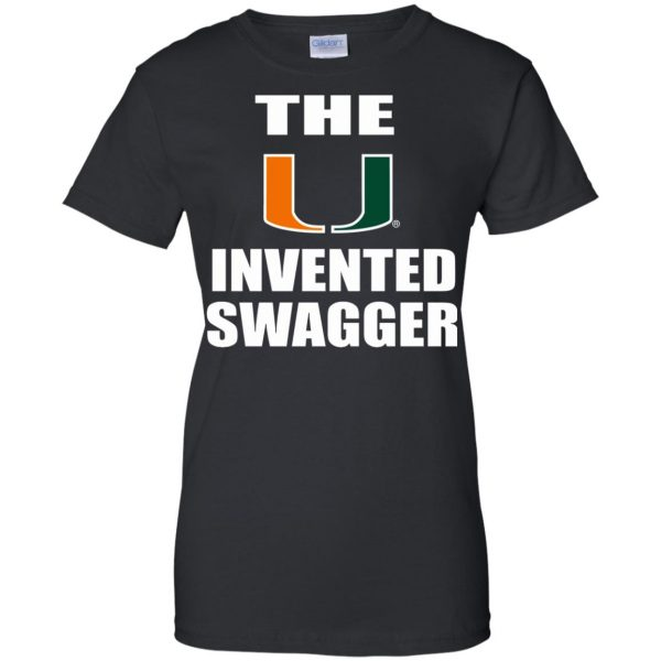 the u invented swagger womens t shirt - lady t shirt - black