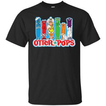 otter pop shirt - black