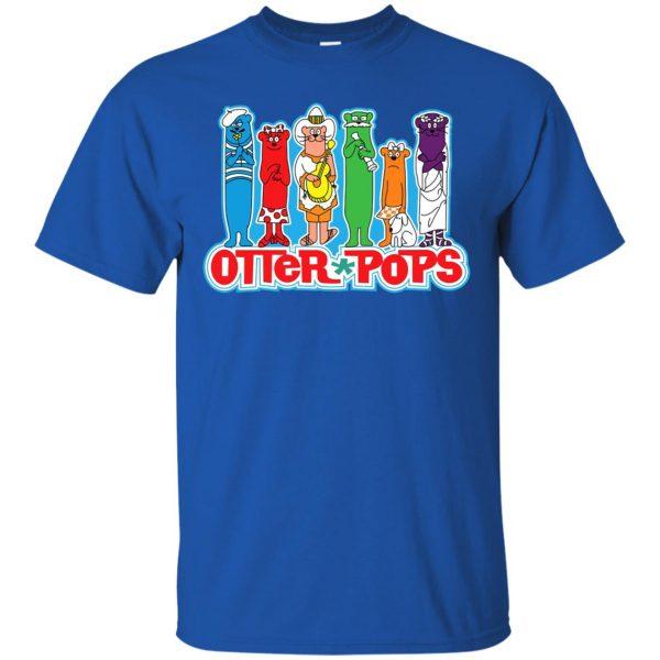 otter pop t shirt - royal blue