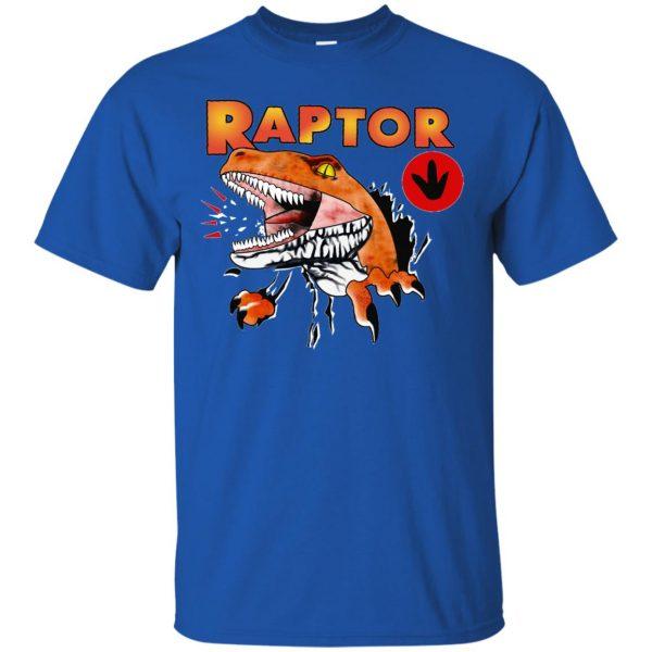 ghost world raptor t shirt - royal blue