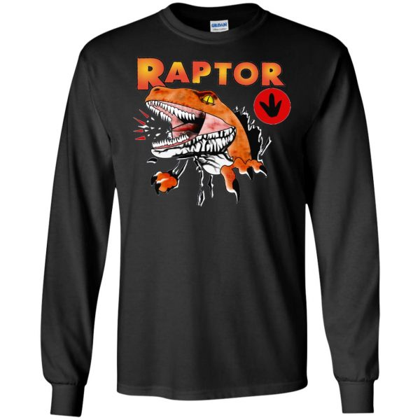 ghost world raptor long sleeve - black