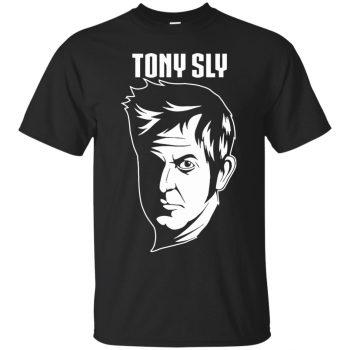 tony sly shirt - black
