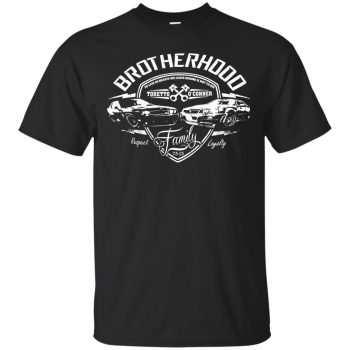 fast and furious brotherhood shirt - black