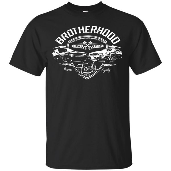 fast and furious brotherhood shirt - black