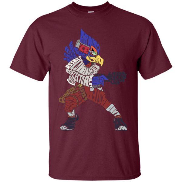 that ain't falco t shirt - maroon