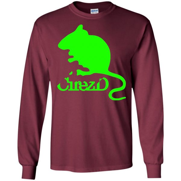 cirez d long sleeve - maroon