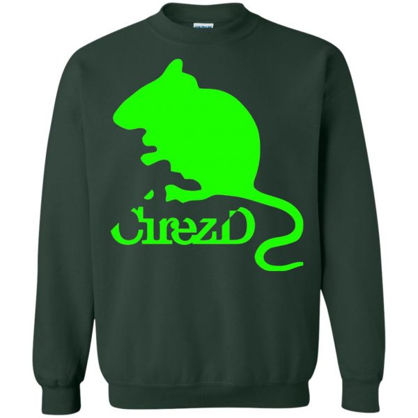 cirez d sweatshirt - forest green