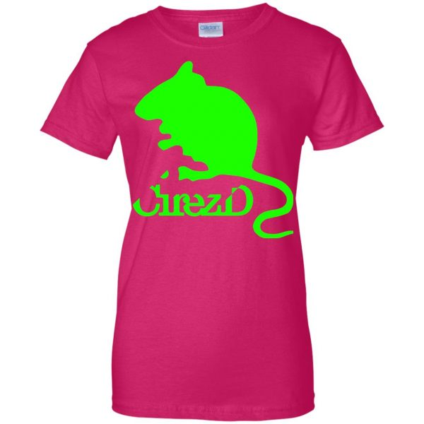 cirez d womens t shirt - lady t shirt - pink heliconia