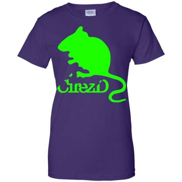 cirez d womens t shirt - lady t shirt - purple