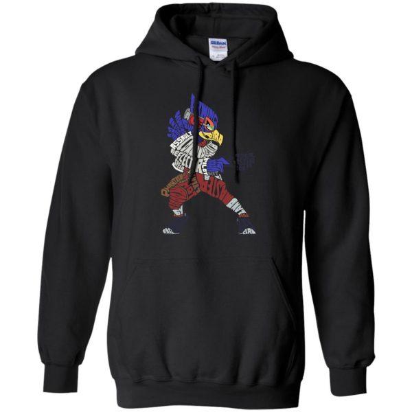 that ain't falco hoodie - black