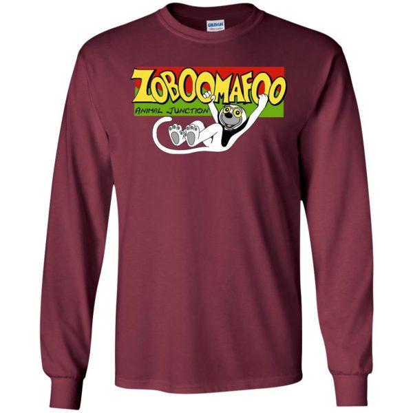 zoboomafoo long sleeve - maroon