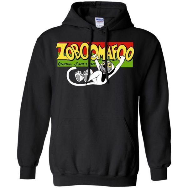 zoboomafoo hoodie - black