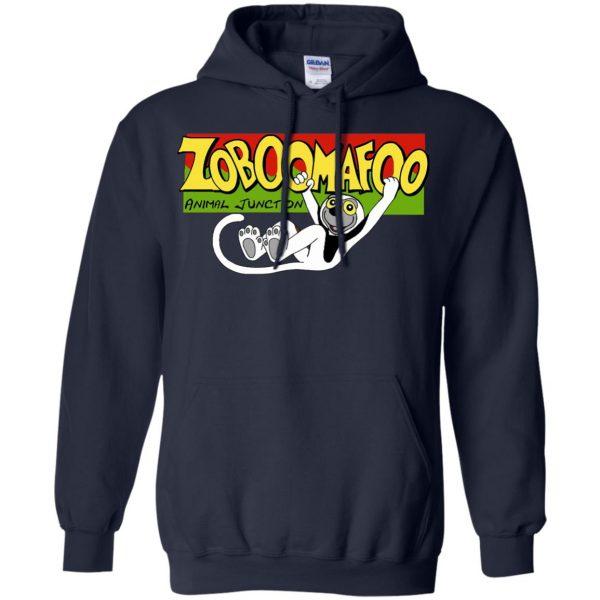 zoboomafoo hoodie - navy blue