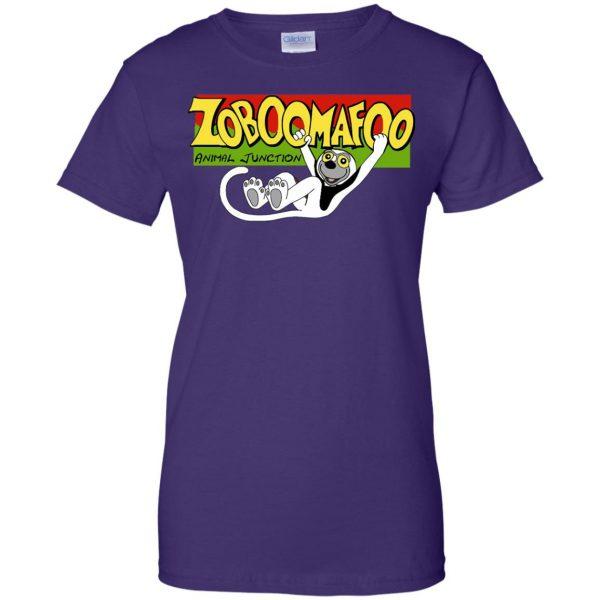 zoboomafoo womens t shirt - lady t shirt - purple