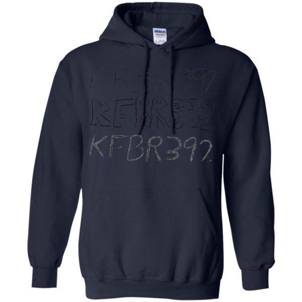 kfbr392 hoodie - navy blue