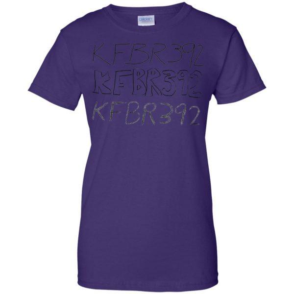 kfbr392 womens t shirt - lady t shirt - purple