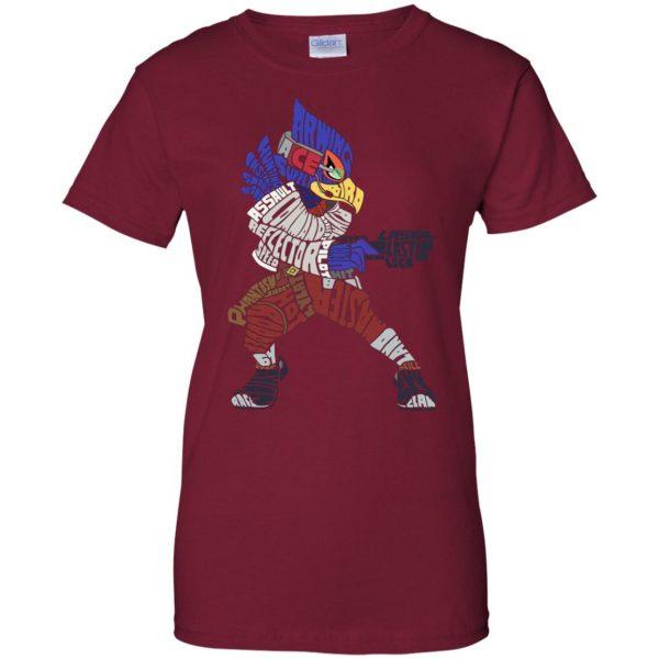 that ain't falco womens t shirt - lady t shirt - pink cardinal