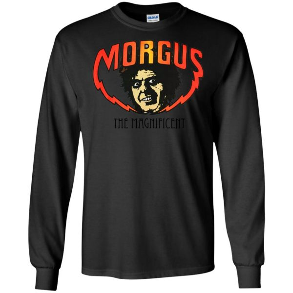 morgus the magnificent long sleeve - black
