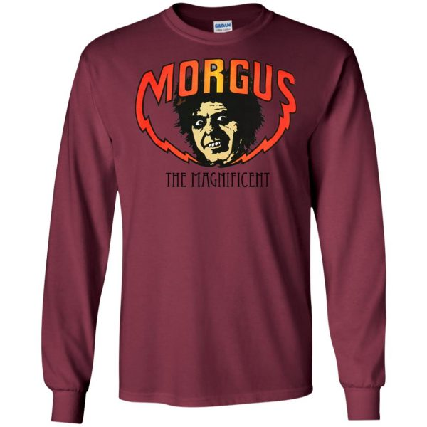 morgus the magnificent long sleeve - maroon
