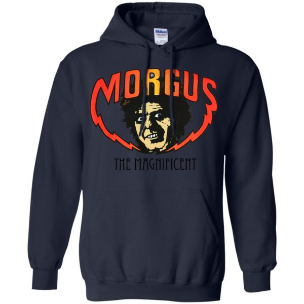 morgus the magnificent hoodie - navy blue