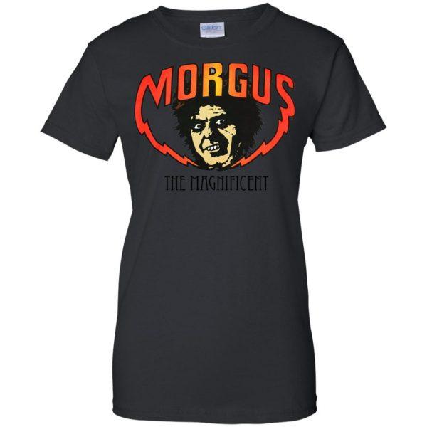 morgus the magnificent womens t shirt - lady t shirt - black