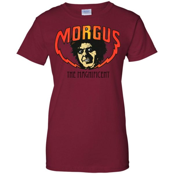 morgus the magnificent womens t shirt - lady t shirt - pink cardinal