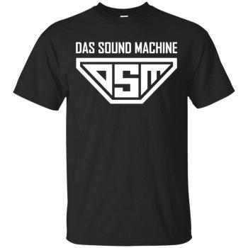 das sound machine tshirt - black