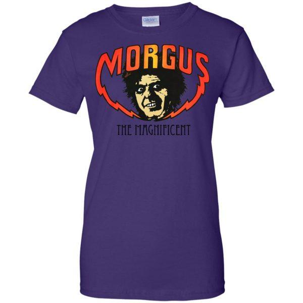 morgus the magnificent womens t shirt - lady t shirt - purple