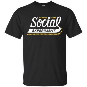 social experiment sweatshirt - black