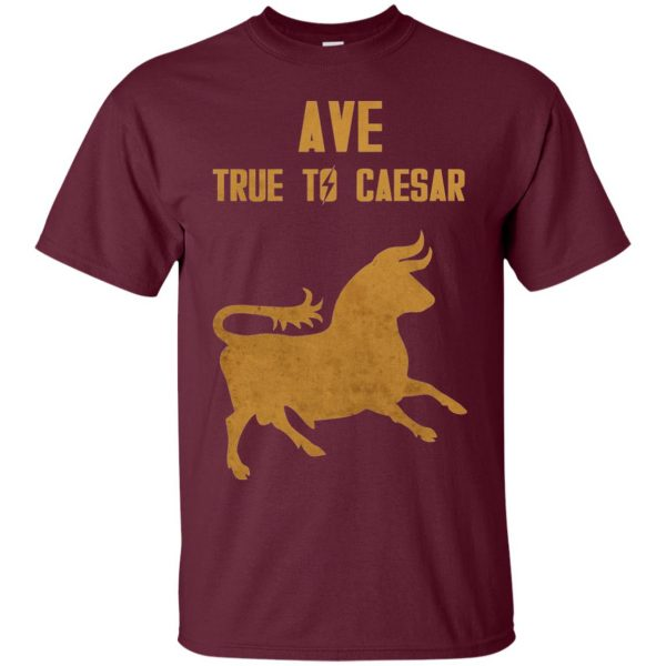 ave true to caesar t shirt - maroon