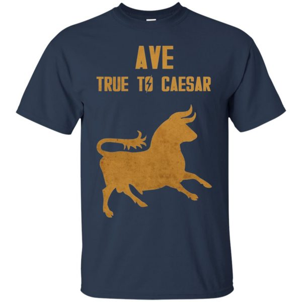 ave true to caesar t shirt - navy blue